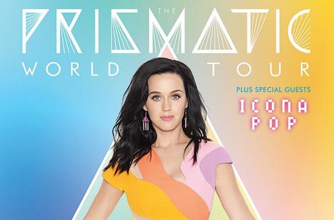 Concert Announcement: Katy Perry 'Prismatic' World Tour ... Katy Perry Tour